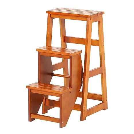 Peachy Amazon Com Xsj Stepstools 3 Steps Folding High Ladder Stool Lamtechconsult Wood Chair Design Ideas Lamtechconsultcom