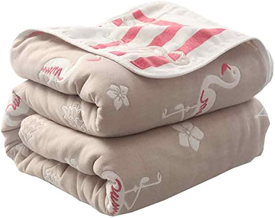 Mantener Caliente Mantas, algodón Grueso Mantas, edredones Toalla japoneses, Siesta Aire Acondicionado Mantas de algodón, edredones, Mantas Toalla. De Espesor (Color : F, Size : 120cm*150cm): Amazon.es: Hogar
