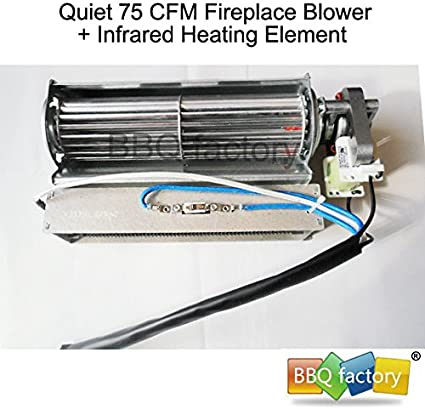 wiring diagram for wood stove blower amazon com bbq factory replacement fireplace fan blower heating  bbq factory replacement fireplace fan