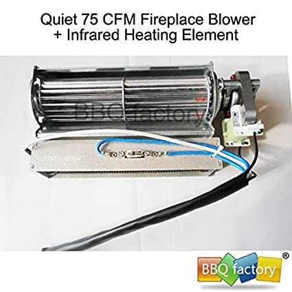 amazon com bbq factory replacement fireplace fan blower heating rh amazon com Fireplace Blower Outlet.com Fireplace Blower Outlet.com