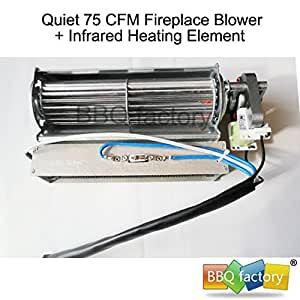 Replacement Fireplace Fan Blower Heating Element For Heat Surge Electric Fi