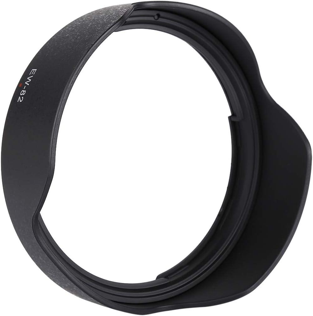 Lens Hood Shade for Sport Cameras case EW-82 Lens Hood Shade for Canon EF 16-35mm f//1.4 is USM Lens, PVC Material for Sport Cameras