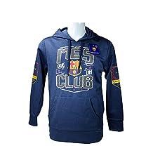 FC Barcelona Front Fleece Jacket Sweatshirt Official License Soccer Hoodie Large 009