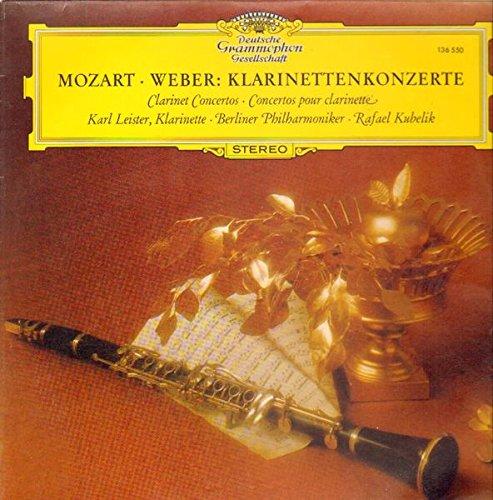 Mozart/Weber: Klarinettenkonzerte/Clarinet Concertos [Vinyl LP] [Schallplatte]