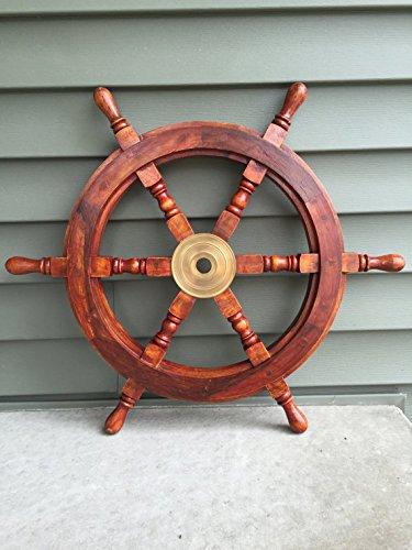 steering wheel of ship - 2