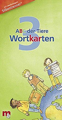 ABC der Tiere 3 - Wortkarten in 5-Fächer-Lernbox