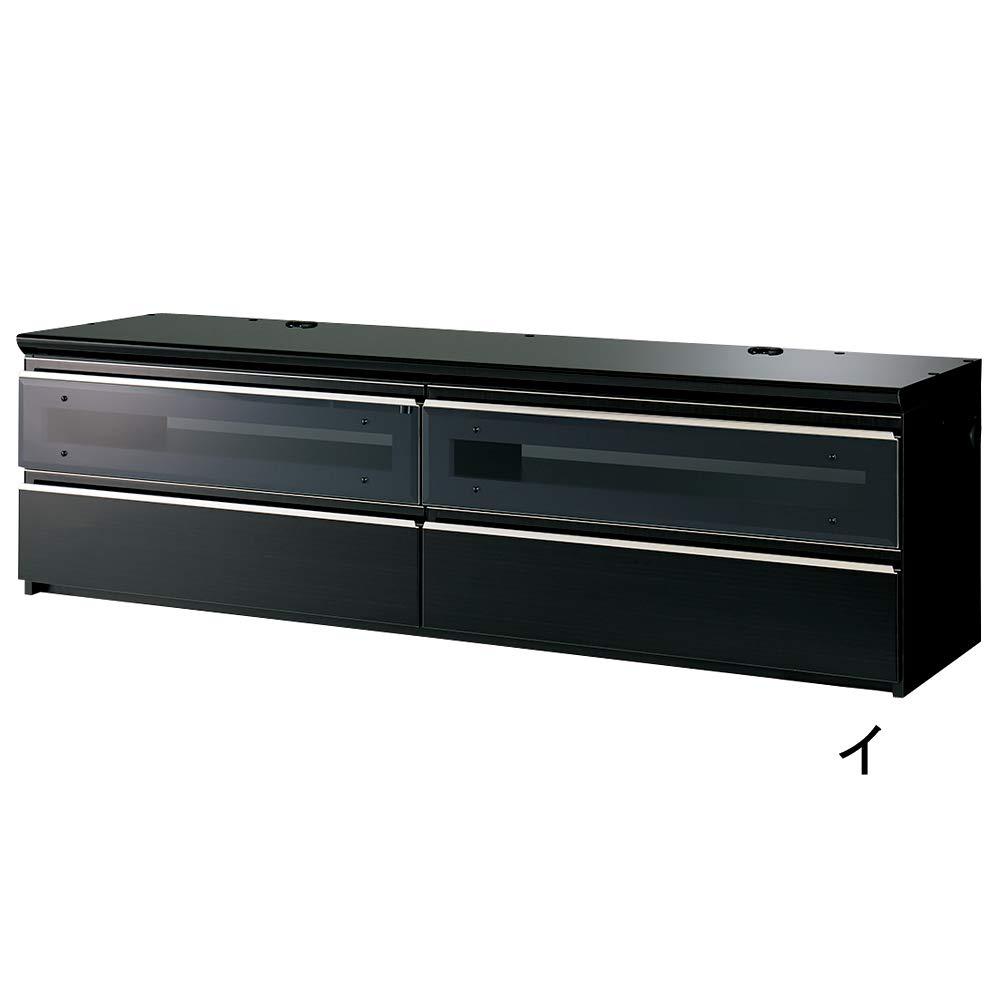ラグジュアリーテレビボードシリーズローボード180<パモウナ VD-1800下台> WAF225(サイズはありません ア:パールホワイト) B07FL3V3YH ア:パールホワイト