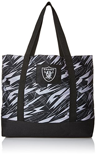 FOCO Oakland Raiders Shatter Print Tote Bag by FOCO