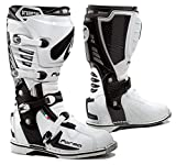 Forma Predator Off-Road MX Motorcycle Boots (White, Size 9 US/Size 43 Euro)