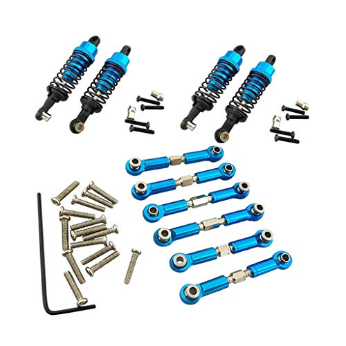 Fenteer Upgrade Parts Servo Linkages Shock Absorber for Wltoys A959 A969 A979 RC Car