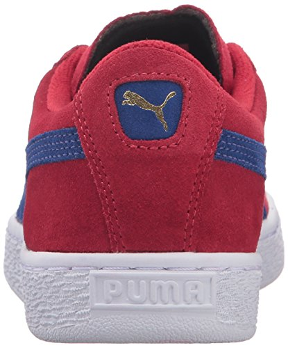 PUMA Suede Jr Classic Kinder Sneaker (kleines Kind / großes Kind) Barbados Kirsche / Mazarine Blau
