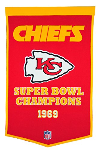(Winning Streak NFL Kansas City Chiefs Dynasty Banner)