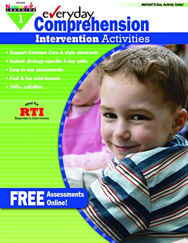 - Everyday Intervention Activities for Comprehension Grade 1 (Eia)