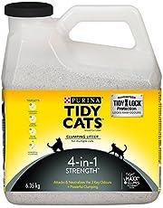 Tidy Cats Clumping Cat Litter; 4-in-1 Strength Multi-Cat - 6.35 kg jug