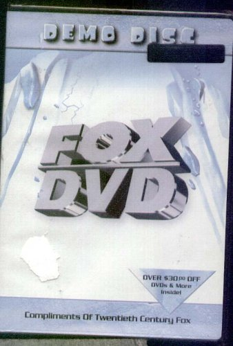 FOX DVD - DEMO DISC - Excerpts from Ice Age, Planet of Apes, Moulin Rouge , the Hustler, Simpsons, M.A.S.H.< Behind Enemy Lines, X-Files,