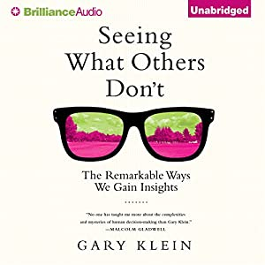 Seeing What Others Don't Audiobook