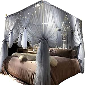 Joyreap mosquito bed canopy net luxury - Canopy bed ideas for adults ...