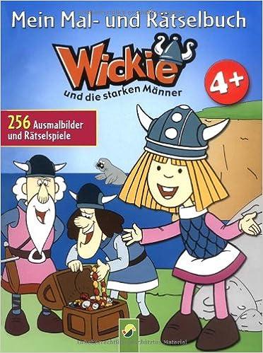 Mein Mal Und Rätselbuch Wickie Ab 4 Jahren 265