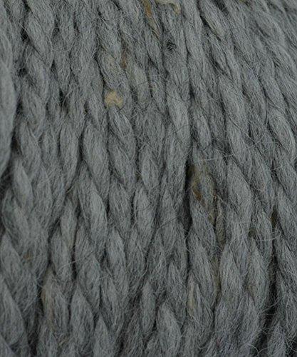 Grande Tweed Baby Alpaca Yarn - #401 Light Grey (110 Yard Yarn)