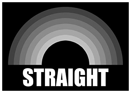 Is heterosexual gay or straight