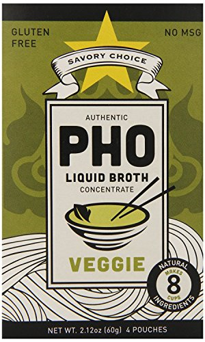 Savory Choice Pho Liquid Broth Concentrate, Vegetable, 2.2 (Liquid Phos)