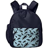Daddy's Wingman Funny Boys Vintage Student Backpack Casual Backpack Bag