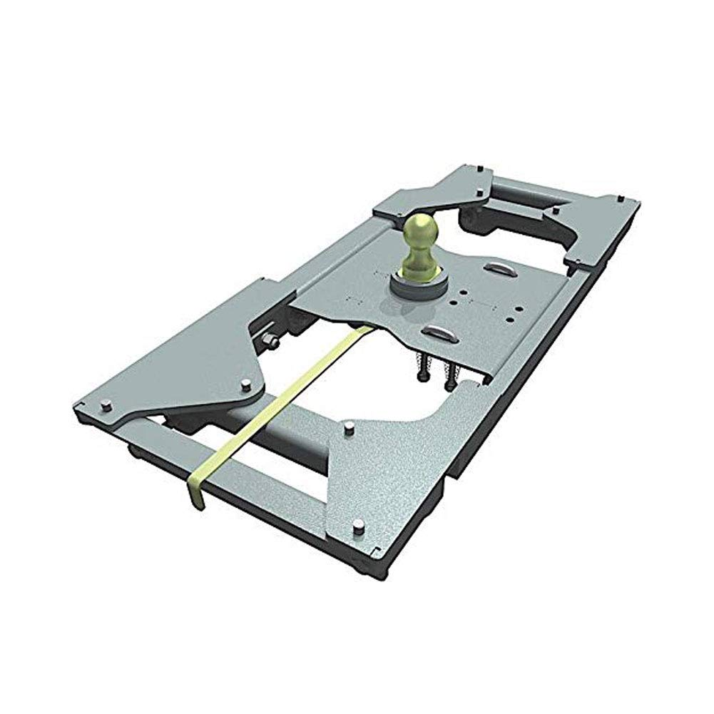 B and W GNRK1116 - Turnover Ball Gooseneck Hitch, 2017-18 Ford Super Duty 2WD, 2019 Ford Super Duty 2WD/4WD  - Head and Rails Complete Kit      by B&W Trailer Hitches