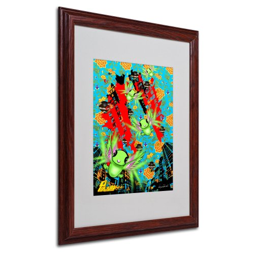 Pulgha Japan 2 by Miguel Paredes, Wood Frame 16x20-Inch