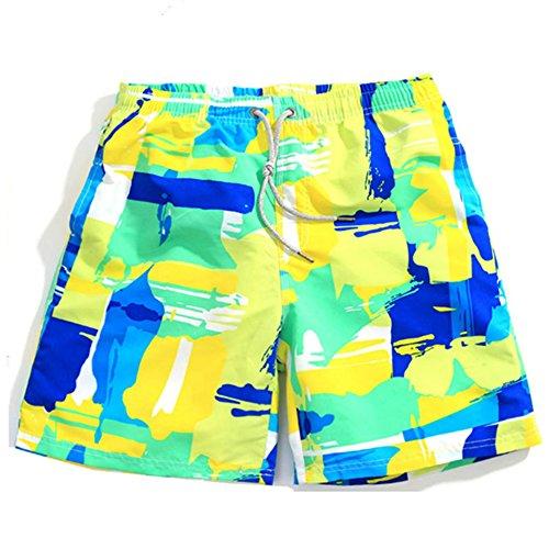 OUOK Couple Swimwear Men Quick Dry Beach Shorts Women's Shorts for Surfing Swim Shorts Boardshorts Swimsuit Board by OUOK