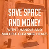 "Value Pack: SWOPT 24"" Dust Mop – 60"" Steel Handle"