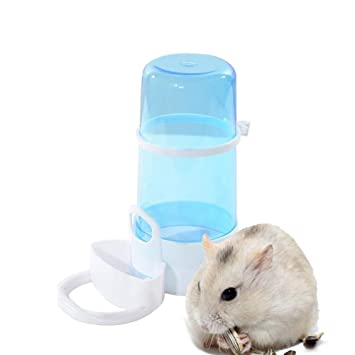 Amazon.com : Yuccer Hamster Water Bottle, Automatic Pet Feeder and Food Container for Small Animals, Guinea Pig, Rabbit, Bird and Mini Hedgehog, ...