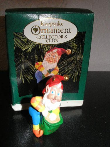 Hallmark Keepsake Ornament Collector's Club 1996 Miniature 'Rudolph's Helper' Elf QXZ4171