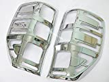 new Chrome Taillight Cover Lamps Trim for New Ford Ranger 2012-2015 T6 Wildtrak Xl Xlt