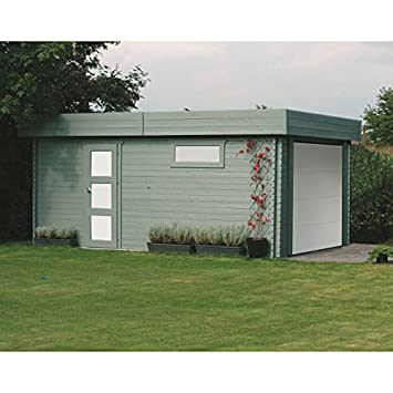 Garage modern holz  Solid Superia Garage Modern Holz 538 x 358 x 256 cm S8935: Amazon.de ...