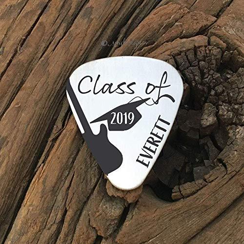 Class Of 2019 Guitar Pick- High School Graduation Gift Boy Guitar Pick Graduation Gift Boy Graduation Guitar Pick 2019 Graduation