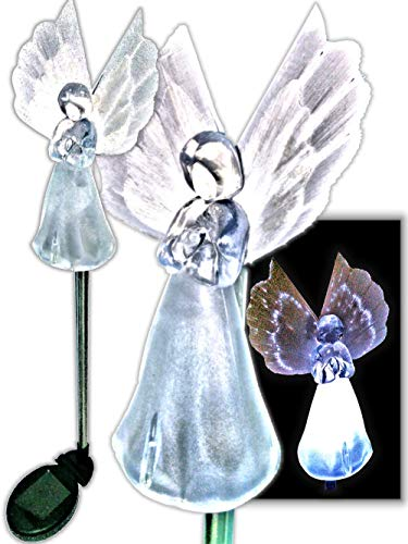 Angel Solar Light Garden Statue in US - 2