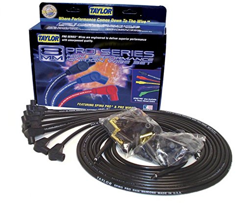 Taylor Cable 73051 Spiro-Pro Black Spark Plug Wire Set