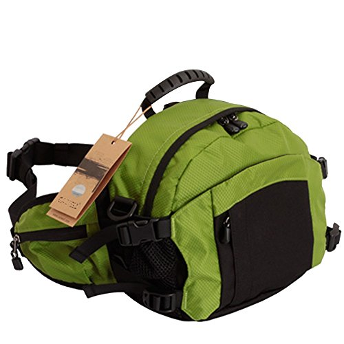 Nasis Unisex Protective Pouch Bag Schuter Shoulder Bag for DSLR camera such as Canon Nikon digital pocket camera bag in 2 Sizes AL2051 (light green)