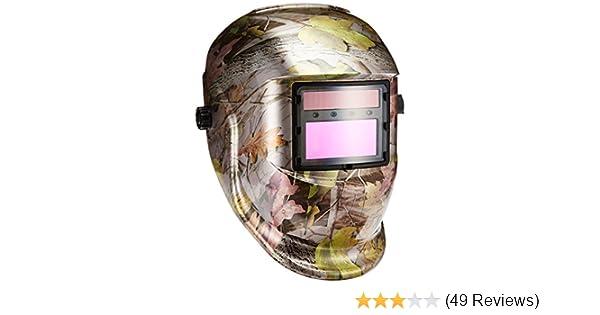 Nice Pro Adjustable Solar Powered Auto Darkening Solar Welders With Replacement Lenses Welding Helmet Mask Forest Camo Novel Design; In