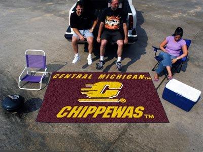 Central Michigan Starter Rug (NCAA Novelty Starter Mat Size: 5' x 8', NCAA Team: Central)