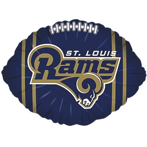 Classic Balloon St. Louis Rams Football Balloon