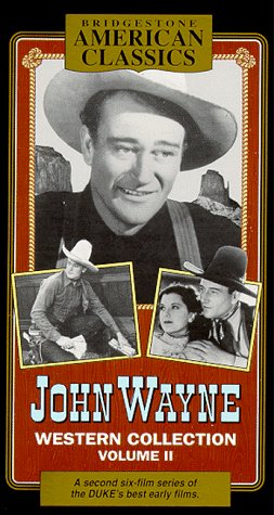 Vol. 2-John Wayne: Hell Town (aka Born to the West), Starpacker, Texas Terror, The Trail Beyond, Blue Steel, Paradise Canyon [VHS] (Born To The West)