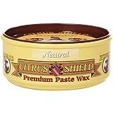 Howard CS0014 Citrus Shield Paste Wax, 11-Ounces Neutral (4-Pack)