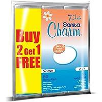 Sanita Charm 100% Cotton Round Pads, 240 (80x2+1) pads