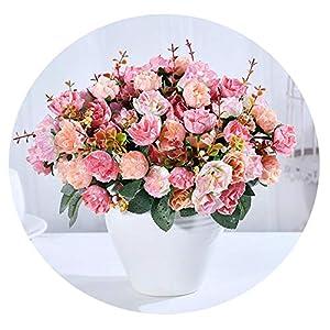 Zalin Silk Rose European Style Artificial Flower Wedding Home Party Decoration 101