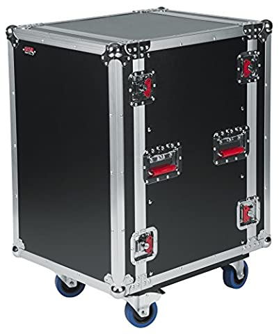 Gator 16U, Standard Audio Road Rack Case with Casters (G-TOUR 16U CAST) - Tour Rack