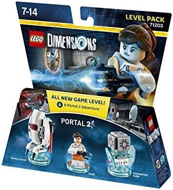 Lego Dimensions - Portal 2 - Level Pack by Warner Bros. Interactive Entertainment: Amazon.es: Videojuegos