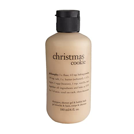 Buy Philosophy Christmas Cookie Shampoo Shower Gel And Bubble Bath