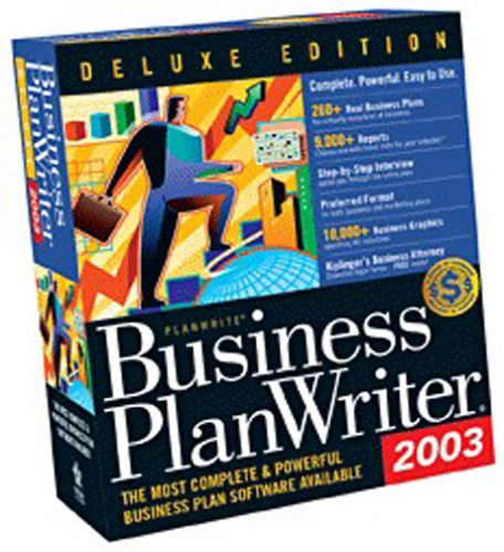 Business Plan Writer Deluxe 2003 95/98/nt/w2k/wme/xp (Business Plan Writer)