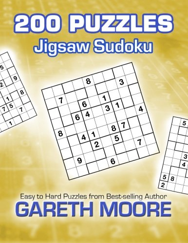 Download Jigsaw Sudoku: 200 Puzzles PDF